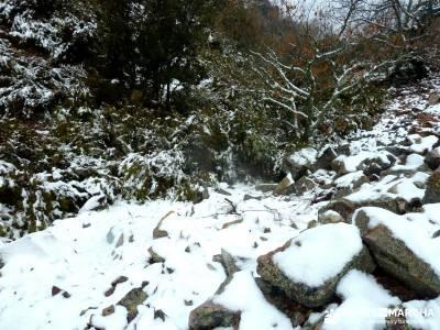 Pico Rocigalgo;Cascada Chorro,Cabañeros; crampones la panera nordic walking laguna negra
